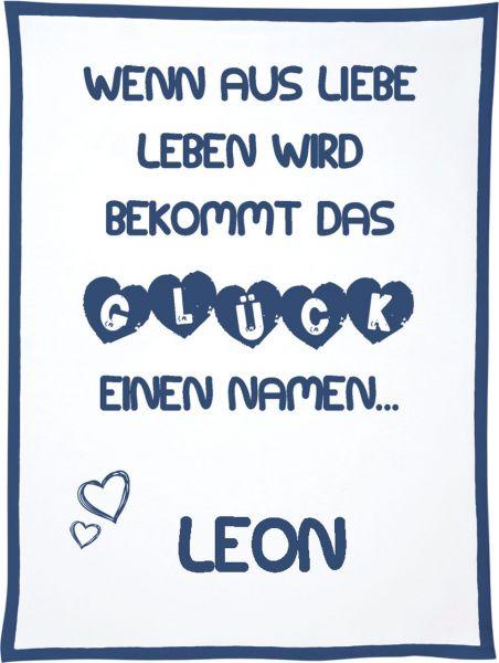 Decke für Kinder wenn aus Liebe Leben wird